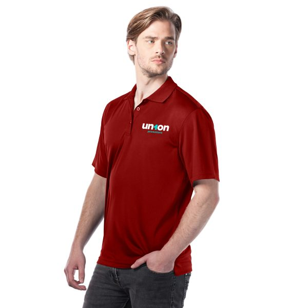 Mens Golf Polo - Red